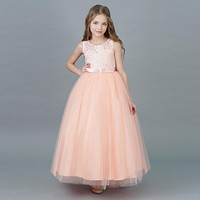 Elegant Princess Formal Dress for Dance, Prom, or Flower Girl