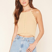 Crocheted Cropped Cami