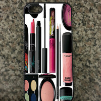 iPhone 5 Mac Makeup Custom Hard iPhone Case is available in Black