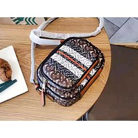 Burberry hot seller of casual women's printed shoulder bags with matching colors