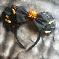 Fall into fall disney mickey mouse ears