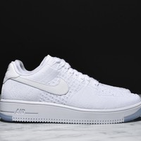 Best Sale AIR FORCE 1 ULTRA FLYKNIT LOW - WHITE / WHITE AF1