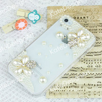 crystal iphone case, unique iphone 5 cases iphone cover skin iphone 4s case, flowers iphone 4 cases