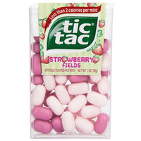 Tic Tacs Big Pack Strawberry Fields 1 oz Pack of 12