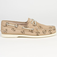 Sperry Top-Sider Authentic Original Mens Boat Shoes Tattoo Chino  In Sizes