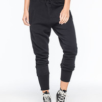 Rusty Neighbor Womens Jogger Pants Black  In Sizes