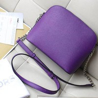 New Famous Cindy Large Saffiano Leather Crossbody Bags