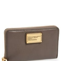 Women's MARC BY MARC JACOBS 'Classic Q Mildred' Wristlet Wallet - Grey