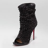 Christian Louboutin Women Fashion Casual Heels Shoes Boots-22