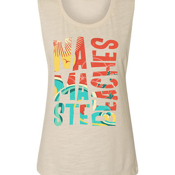 Namaste Beaches Muscle Tank