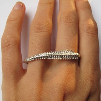 verameat | spine duster ring in silver