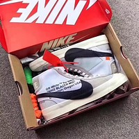 OFF-White x Nike Blazer Men Fashionn Sneakers Sport Shoes
