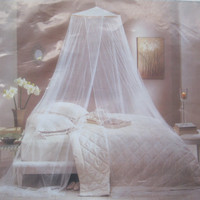 2 Bed Canopy-Mosquito Netting-Canopy Bed Covers-Crib Canopy-Princess Bed-Wedding Decor-Baby Bassinet Decor-Nursery Decor