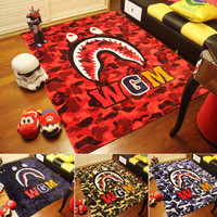 Shark Blanket A Bathing Ape Blanket Super Soft Fleece Blanket on the bed Sofa Blanket 150*200cm Free Shipping