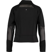 Black Cut Out Mesh Sports Jacket - Jackets - Jackets & Coats - Clothing - Women - TK Maxx