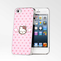 Hello Kitty Smile iPhone 4s iphone 5 iphone 5s iphone 6 case, Samsung s3 samsung s4 samsung s5 note 3 note 4 case, iPod 4 5 Case
