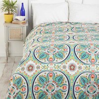 Urban Outfitters - Painted Medallions Duvet Cover