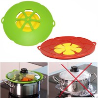 Flower Silicone Boil Over Spill lid Stopper Cookware Parts Kitchen Gadgets Cooking Pot Lids Utensil as seen on tv
