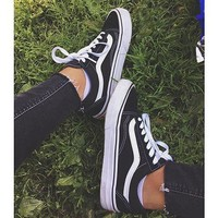 Vans Summer Shoes Low-cut Casual Classics Unisex Shoes [11501097356]