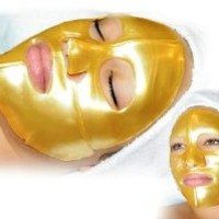 Jovena Beauty Gold Collagen Face Mask for Anti Aging (Pack of 4)