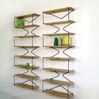 X-Ray bookshelf by Rebob made in The Netherlands on CrowdyHouse