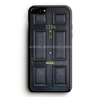 Bbc Sherlock Benedict Cumberbatch Hipster Dr Who Amy Pond Rory iPhone 7 Plus Case | aneend