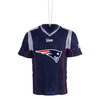 New England Patriots  Official NFL Resin Jersey Ornament