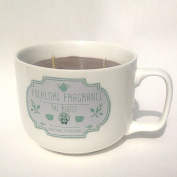 The Roost - Animal Crossing Inspired Scented Soy Candle