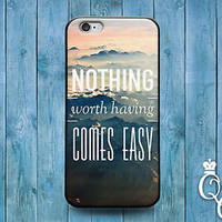 Cute Quote Ocean Waves Phone Case Pretty Cover iPod iPhone 4 4s 5 5s 5c 6 Plus +