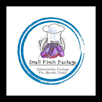 Small Pinch Package │ Hermit Crab │ Subscription