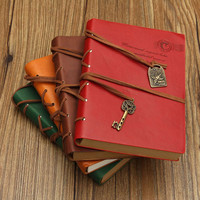 Best Promotion Vintage Retro Classic PU Leather Blank Pages Notebook Journal Diary Travel Paper Sketchbook