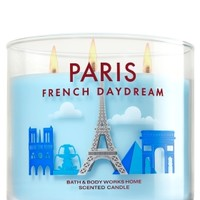 3-Wick Candle Paris French Daydream