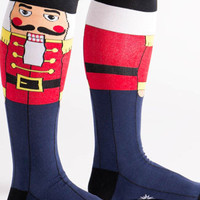 Nutcracker Knee High Socks
