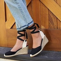 Soludos Womens Naples Espadrille Wedge
