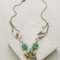 Mountain Melody Necklace by Anthropologie Mint One Size Necklaces