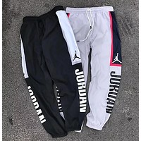 """Jordan"" Trending Men Women Stylish Casual Print Drawstring Sport Pants Trousers Sweatpants"