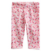Jumping Beans Geometric Leggings - Baby, Size: 3 MONTHS (Pink)