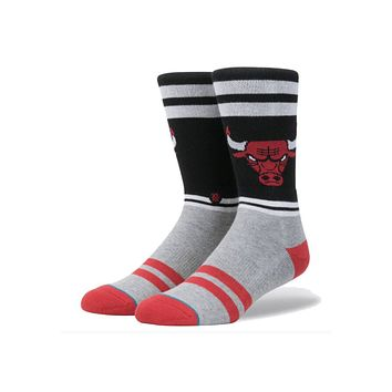 Stance NBA Casual City Gym Bulls Socks