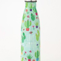 Live Simply Cactus Water Bottle
