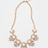 Audrey Crystal Statement Necklace