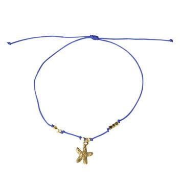 Mini Starfish Cord Bracelet - Choose from 10 colors