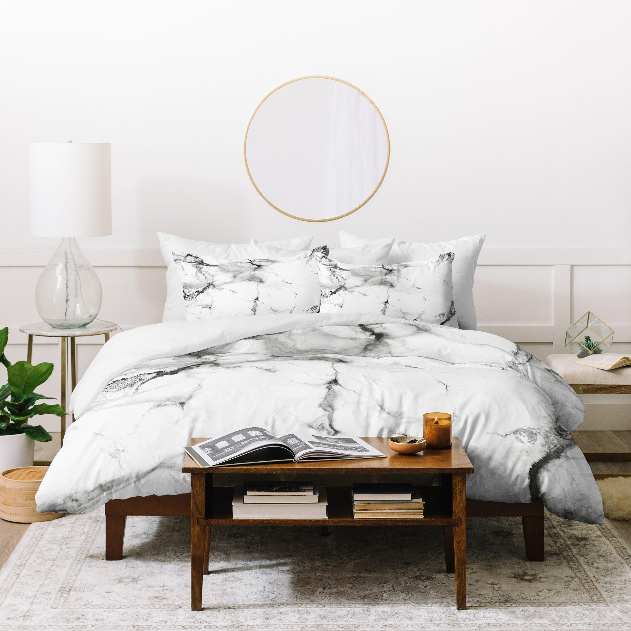 Image of Chelsea Victoria Marble Duvet Cover