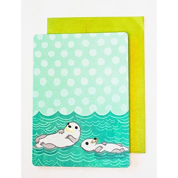 Otter Card – Father's Day Card