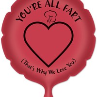 you're all fart whoopee cushion Case of 30