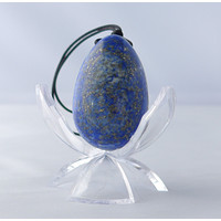 Lapis Lazuli Yoni Egg Set- Small, Medium or Large