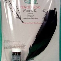 Dragon's Blood Writing Kit [RWDRA] - $6.95 : Official Witch Shoppe Online Shopping, Your Wiccan, pagan, witch and witchcraft supplies online store, featuring Laurie Cabot signature products.