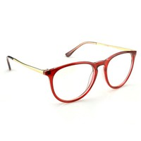 Womens Fashion Oversized Clear Lens Round Circle Eye Glasses
