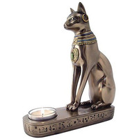 Egyptian Cat Candle