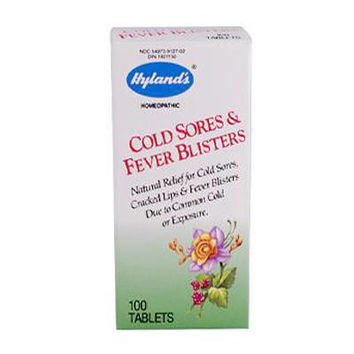 Hyland's Cold Sores and Fever Blister - 100 Tablets