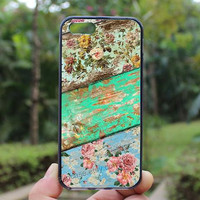 Old Wooden Boards,Flowers,samsung case,iphone 4 case,iPhone4s case, iphone 5 case,iphone 5c case,Gift,Personalized,water proof